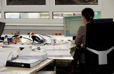 Desk job